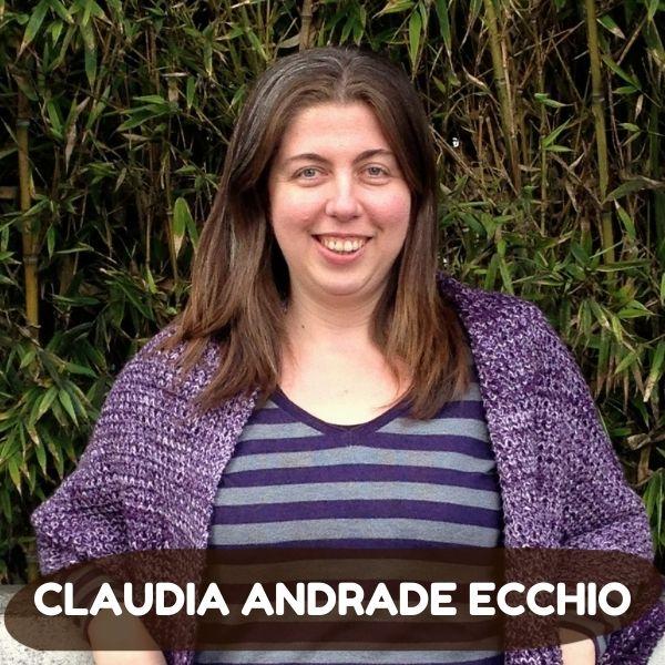 Claudia Andrade Ecchio escritora author